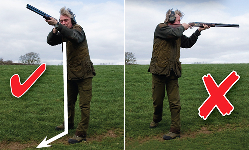 Clay pigeon shooting lessons.