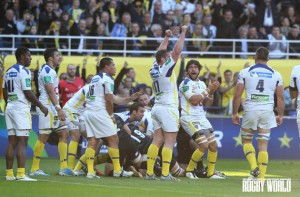 Protecting their home: Clermont Auvergne won at home for the 75th game in a row