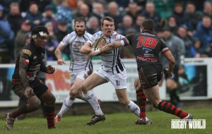 Swashbuckling: Pontypridd stormed past Cornish Pirates to reach the B&I semis