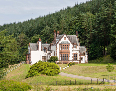 scottish edwardian country house country life
