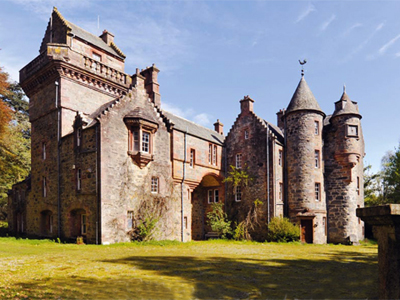 romantic castle in scotland for sale country life