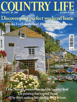 Country Life magazine August 20 2014