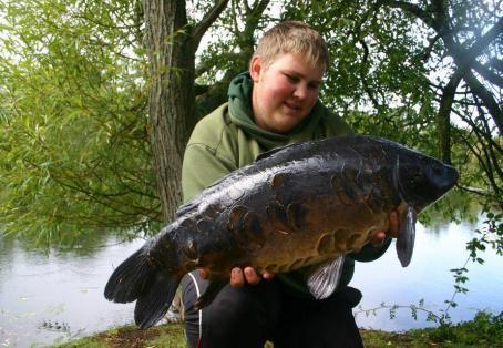 Mirror carp: Dan Howe catches Kinky