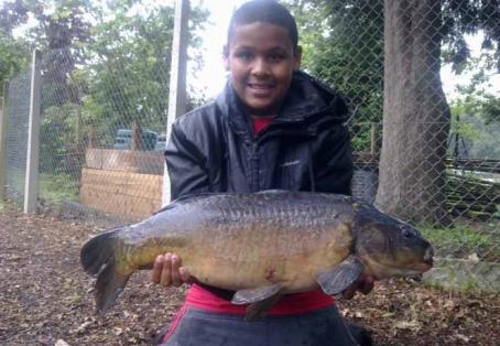 Mirror carp: The fish is known as shadow