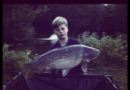Leather carp: 1:30 am a delkim screamer
