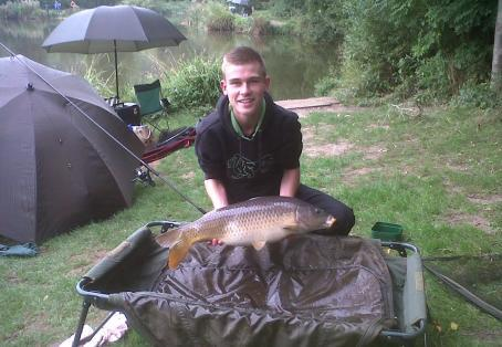 Common carp: fish number 6 of the session :D