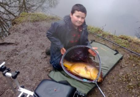 Mirror: my pb carp caught earlier this year,