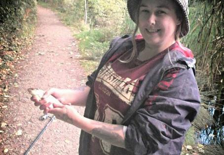 Roach: 1st fish after not fishing since a teenager decades ago!