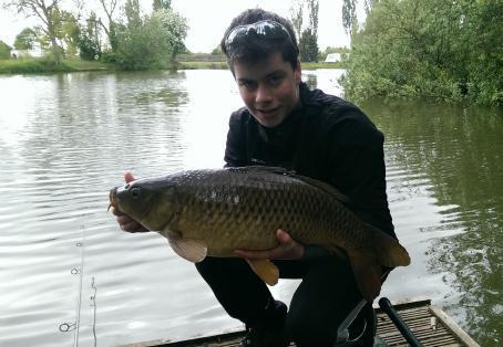 Common carp: common fishing on margins