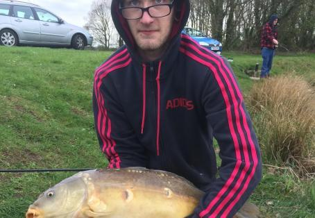 Mirror carp: First time at Strawberry Fields