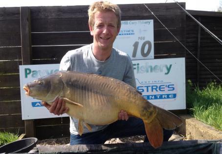 Mirror carp: New PB by Mark Martyn