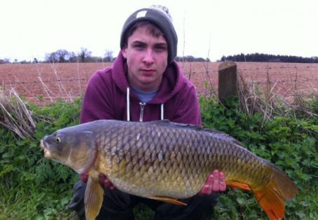 Common carp: 18 lb 6 oz common carp