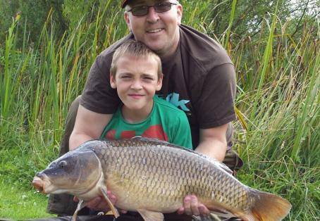 Common carp: my son josh's new pb