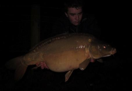 Mirror carp: First carp of 2015 and a new PB