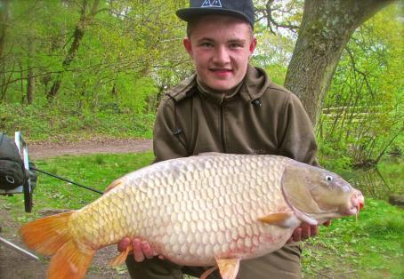 Common carp: Lewis 25 lb 6 oz light common