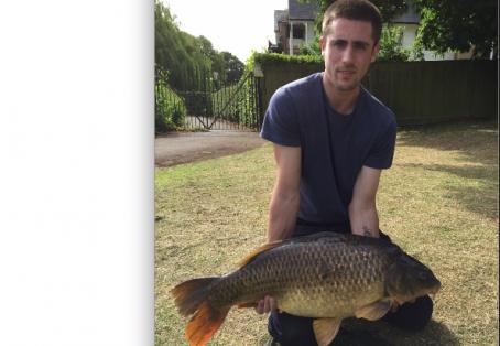 Common carp: 25lb common tidal Thames