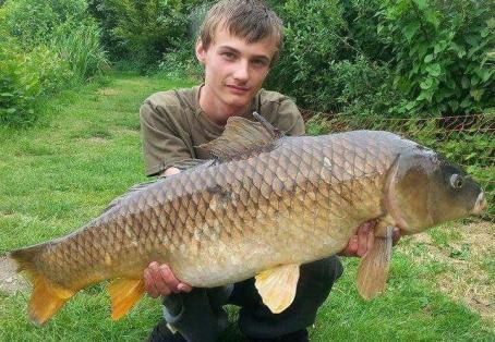 Common carp: New pb
