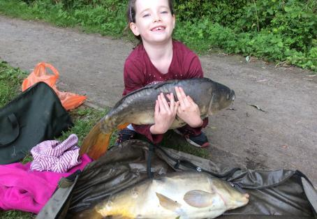 Mirror carp: Double run of doubles for Lola