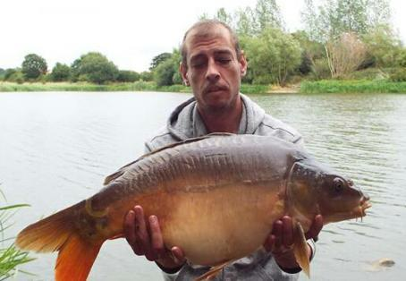 Linear mirror carp: my 2nd new pb on same session
