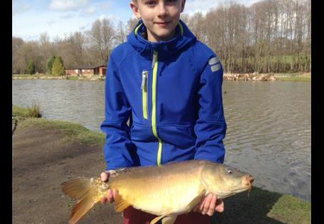 Mirror carp: Personal best and favourite fish of the day!