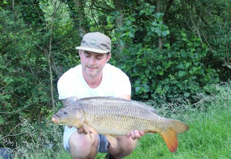 Common carp: 15lb river severn common