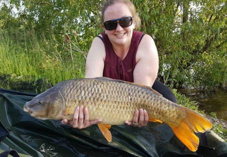 Common carp: Oh my god my first ever common carp!