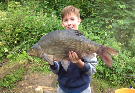 Bream: Alec Campbell 13 years old  my first bream