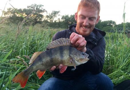 Perch: Old Warrior Perch and New PB