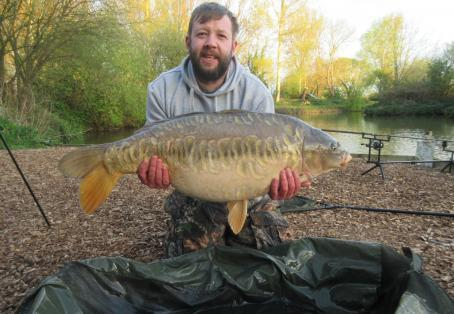 Mirror carp: first 24hr of the year 3 30s