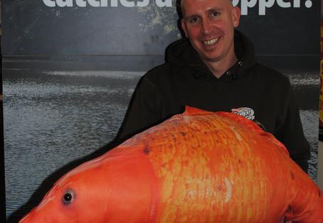 Koi carp: Koi Hodgson at the Big One