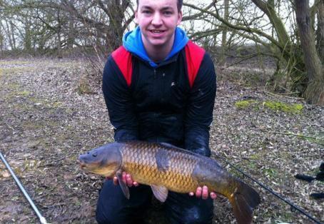 Common carp: 13 1/2
