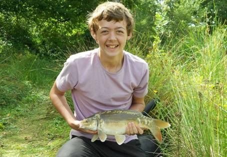 Mirror carp: Waggler Caught Mirror Carp