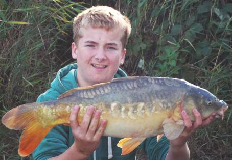 Mirror carp: Homeade boilie produces first double.