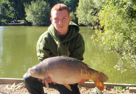 Mirror carp: Mirror saves a blank!