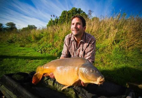 Mirror carp: fishing gods smiling down