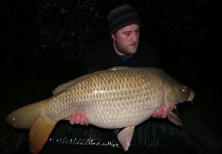 Common carp: 34lb 12oz stunning common