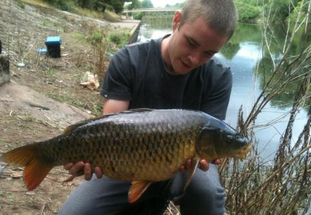Common carp: Irwell carp! not huge but very special fish