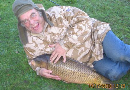 Mirror: My first Thames carp