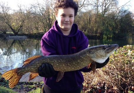 Pike: my first ever pike