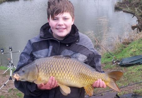 Common carp: GEORGE PRATT AGED 13