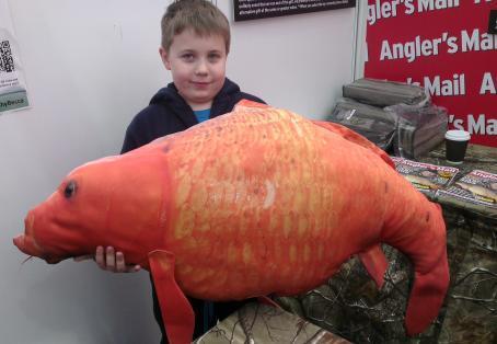 Koi Hodgson At The Big One Anglers Mail