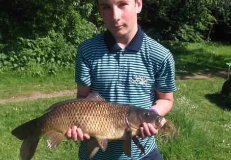 Common carp: My PB at 10lb.3oz