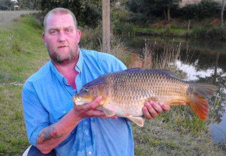 Common carp: My 1st official double