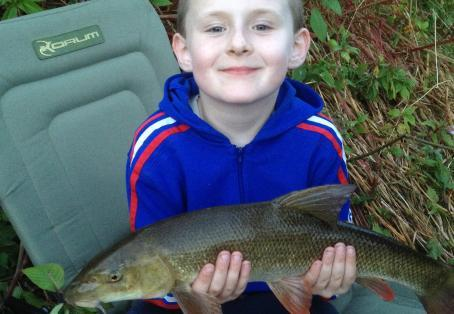 Barbel: First Fishing Trip with Dad!