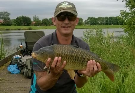 Common carp: first one...after a hard week at work