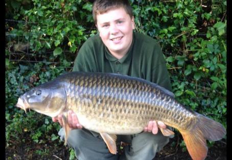 Common carp: New pb 25lb 4oz