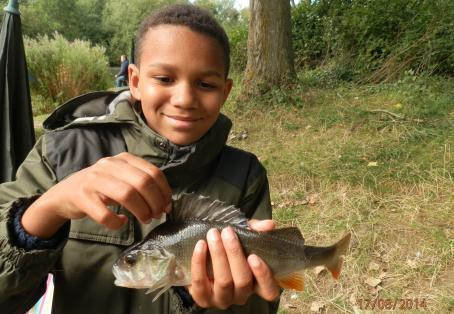 Perch: The smile says it all!