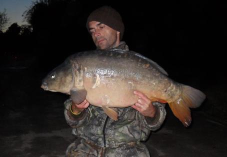 Mirror: 28lb Thames carp