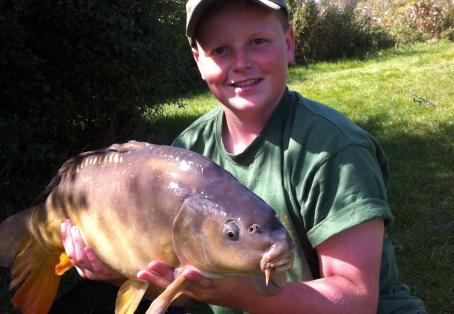 Leather carp: Epic catch for the zigs
