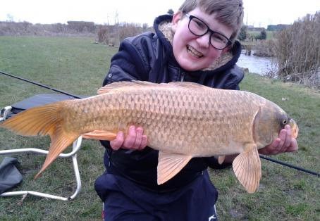 Ghost carp: A whopper in the winter